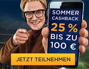 Bet3000 Sommer Cashback
