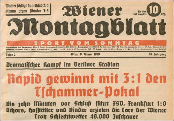 Pokalfinale 1938