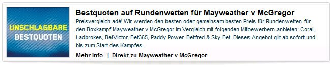 mcgregor vs mayweather wetten