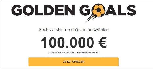 Betfair Golden Goals