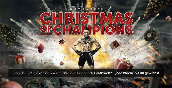 Betsafe's Christmas of Champions