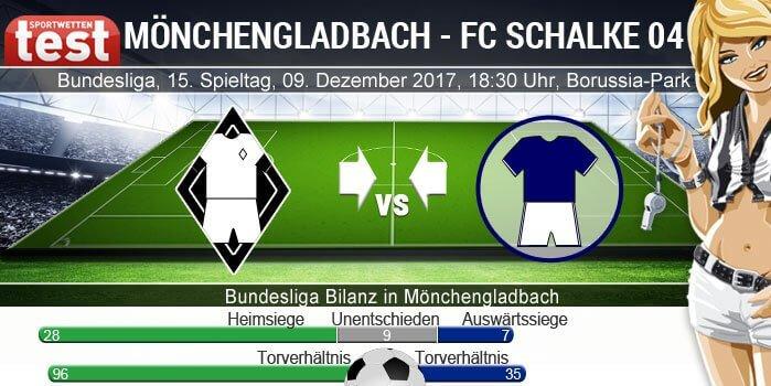 Direktvergleich Gladbach - Schalke