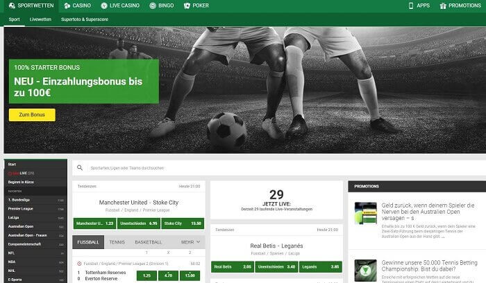 Unibet Sportsbook Test