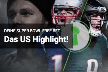 Super Bowl Freebet Unibet