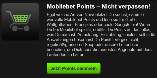 Mobilebet Bonusprogramm