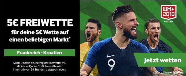 Betway: Freiwette zum WM-Finale