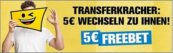 Interwetten 5-Euro-Gratiswette