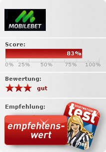 Mobilebet Sportwetten Test Bewertung