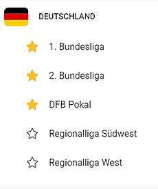 Leovegas Wettangebot Deutscher Fussball