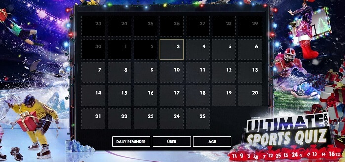 Bethard Adventskalender Quiz