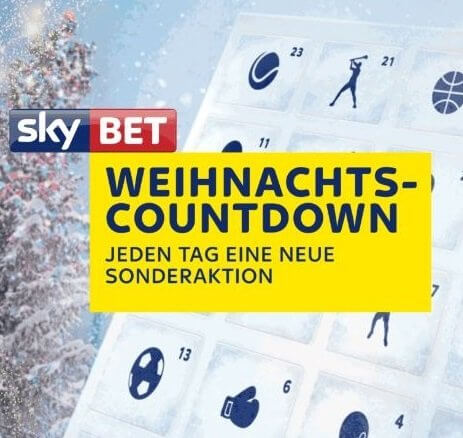 Sky Bet Weihnachts Countdown 2018