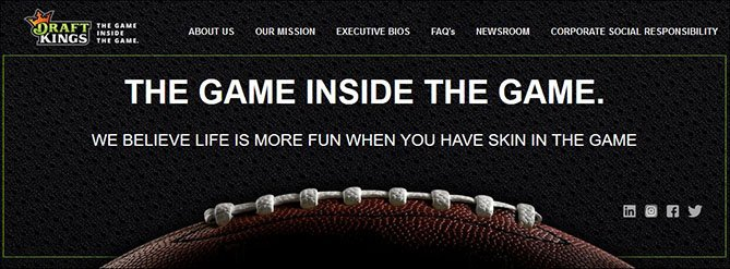 DraftKings Motto