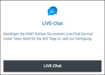Betano Live-Chat