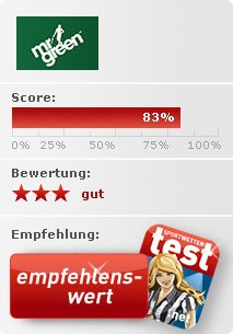 Mr Green Sportwetten Test Bewertung