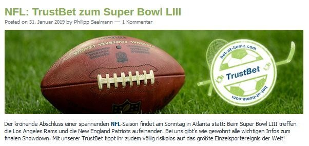 Bet-at-Home Trust Bet Super Bowl