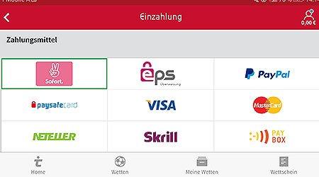 Tipico App Auszahlung