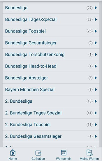 Deutsche Bundesliga Bet-at-home