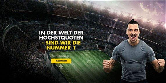 Bethard Sportwetten Zlatan Ibrahimovic