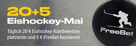 Bwin Eishockey WM 2019 Gratiswette