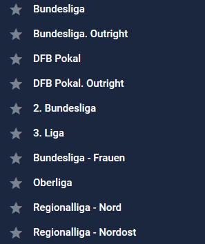Fußball Wettangebot Deutschland