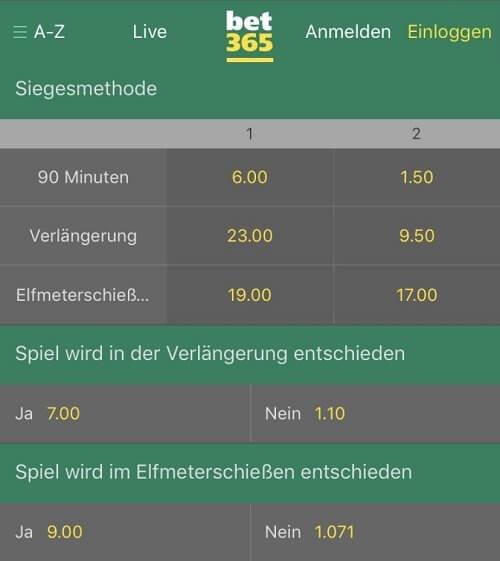 Wetten DFB Pokal Finale