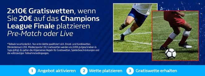 Champions League Angebote