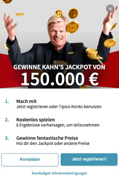 Bundesliga 6 tipico tippspiel