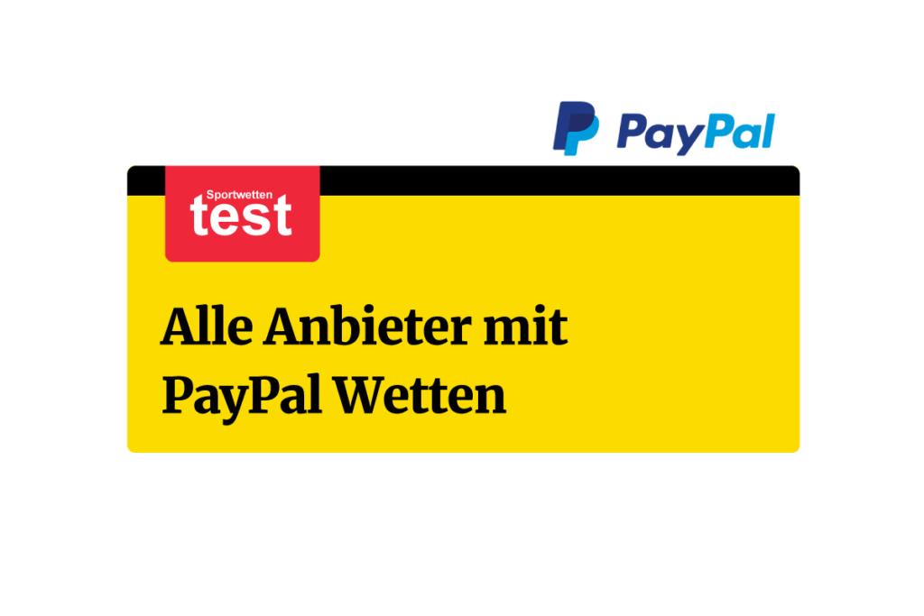Wetten Mit Paypal