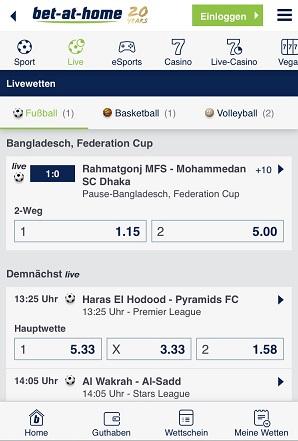 bet at home livewetten