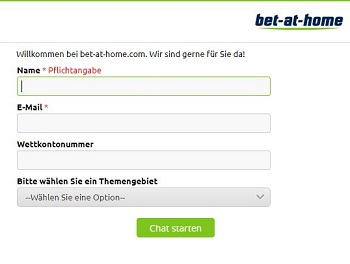 bet-at-home livechat