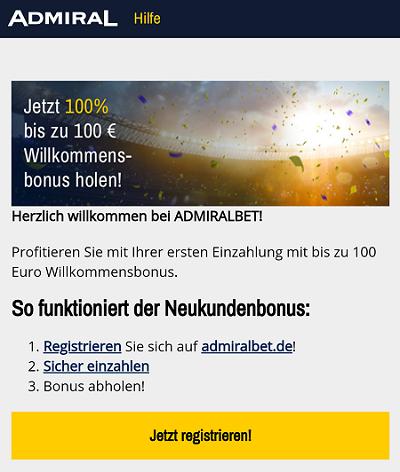admiralbet bonus