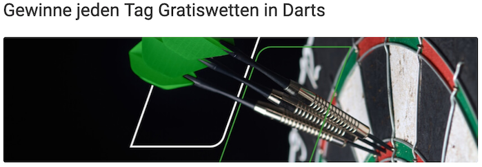 darts gratiswette