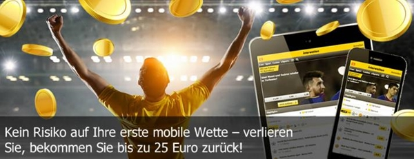 Interwetten Mobile Cashback