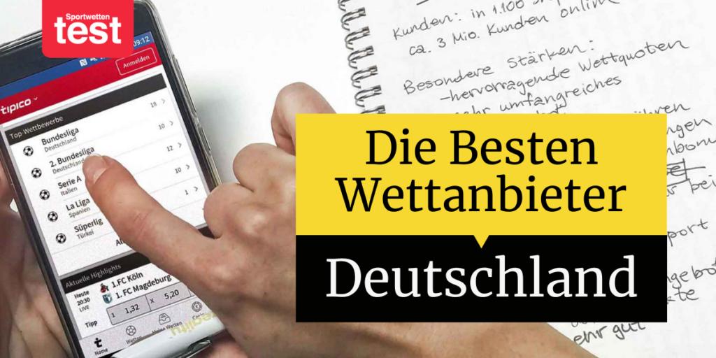 Die Besten Wettanbieter Deutschland