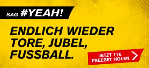 11 € Interwetten Gutschein für Gratiswette