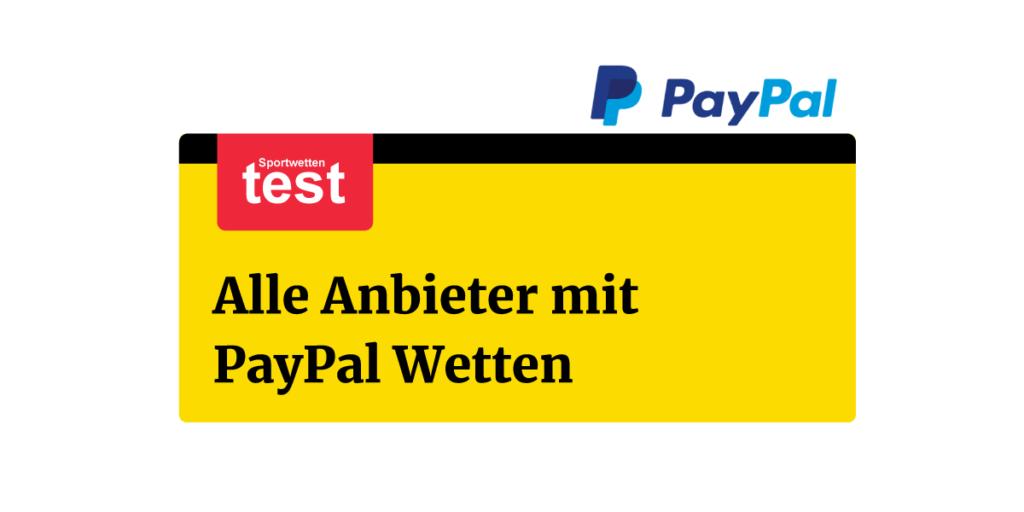 Paypal Wetten