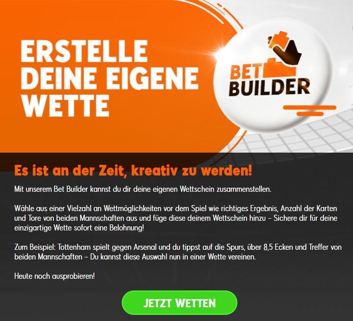 888 sport Bet Builder