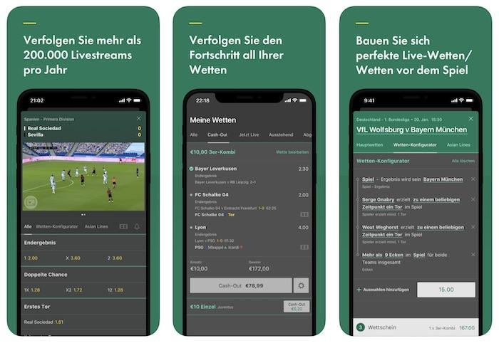 bet365 app live wetten