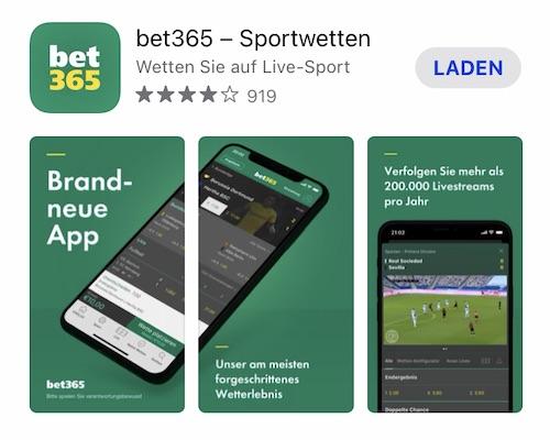bet365 app ios