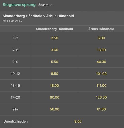 bet365 handball wetten