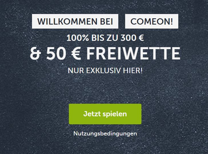 Come On Neukunde Freebet