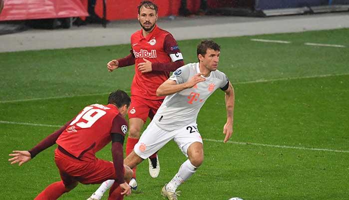 Bild zeigt Thomas Müller vom FC Bayern Salzburg Wetten