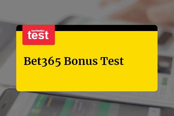 Bet365 Bonus Erfahrungen