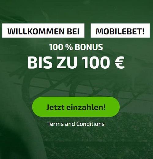 Mobilebet Einzahlungsbonus