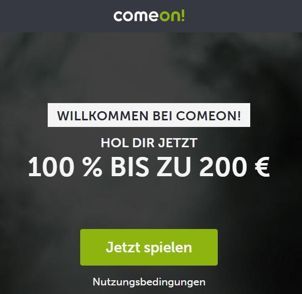 ComeOn Bonus esports fifa