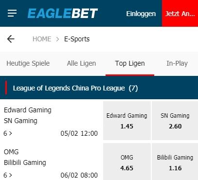 eaglebet league of legends