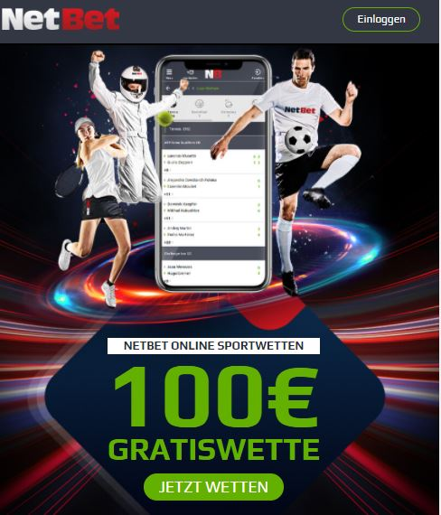 NetBet Sportwettenbonus