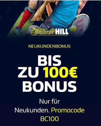 William Hill Bonus mit Code