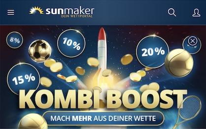 Sunmaker App Kombi Boost