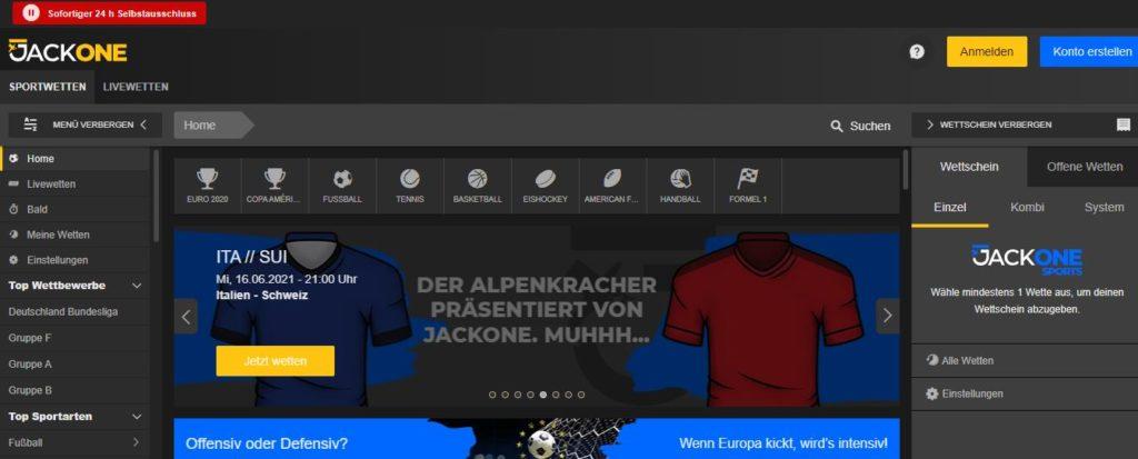 Jackone Website